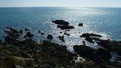 Felsen an der Bretagne Küste