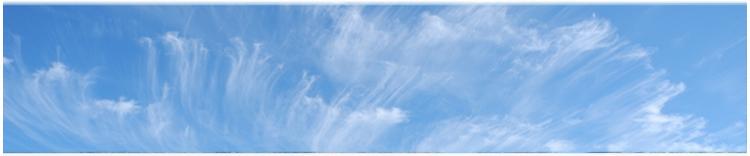 Urlaub mit Schönwetterwolken