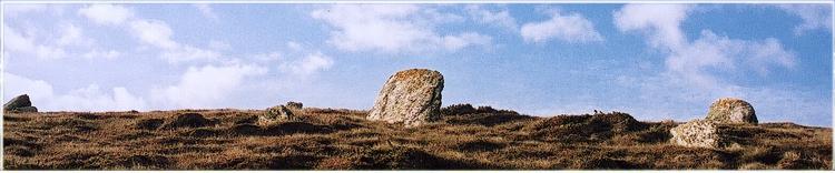 bretonische Menhire - seid Asterix auch Hinkelsteine genannt